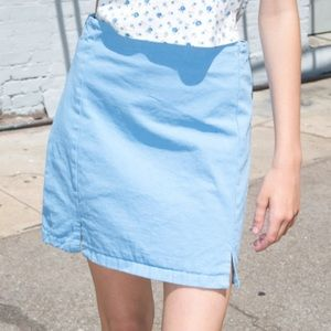 Brandy Melville CARA DENIM SKIRT